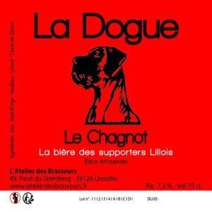 Etiquette La Dogue Le Chagnot