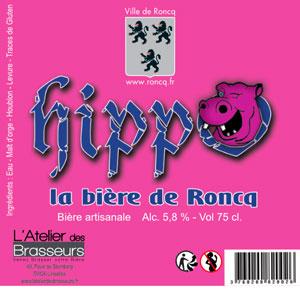 Bière blonde légère brassée pour la ville de Roncq www.roncq.fr